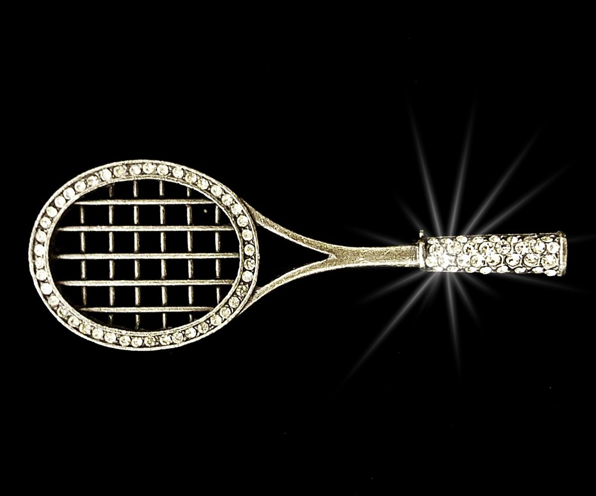 Brož tenisová raketa
