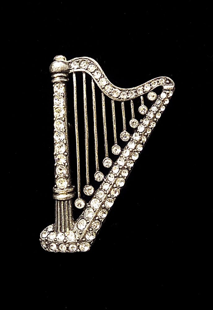 Brož harfa