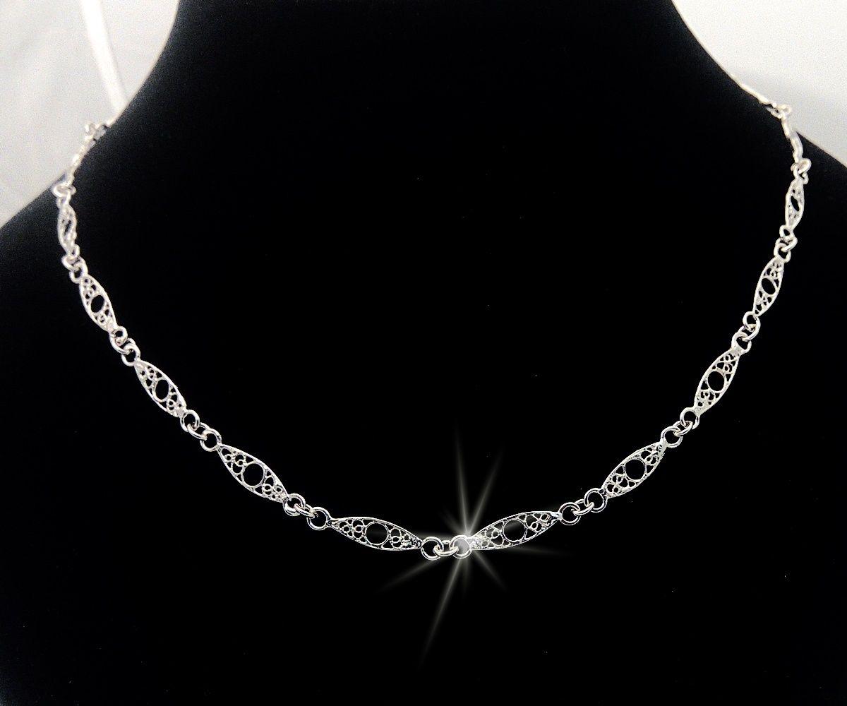 Filigránový náhrdelník
