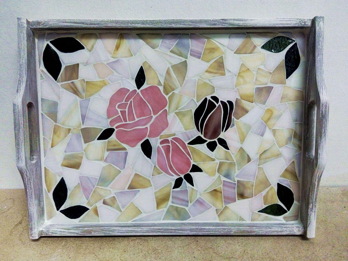 Podnos s mozaikou