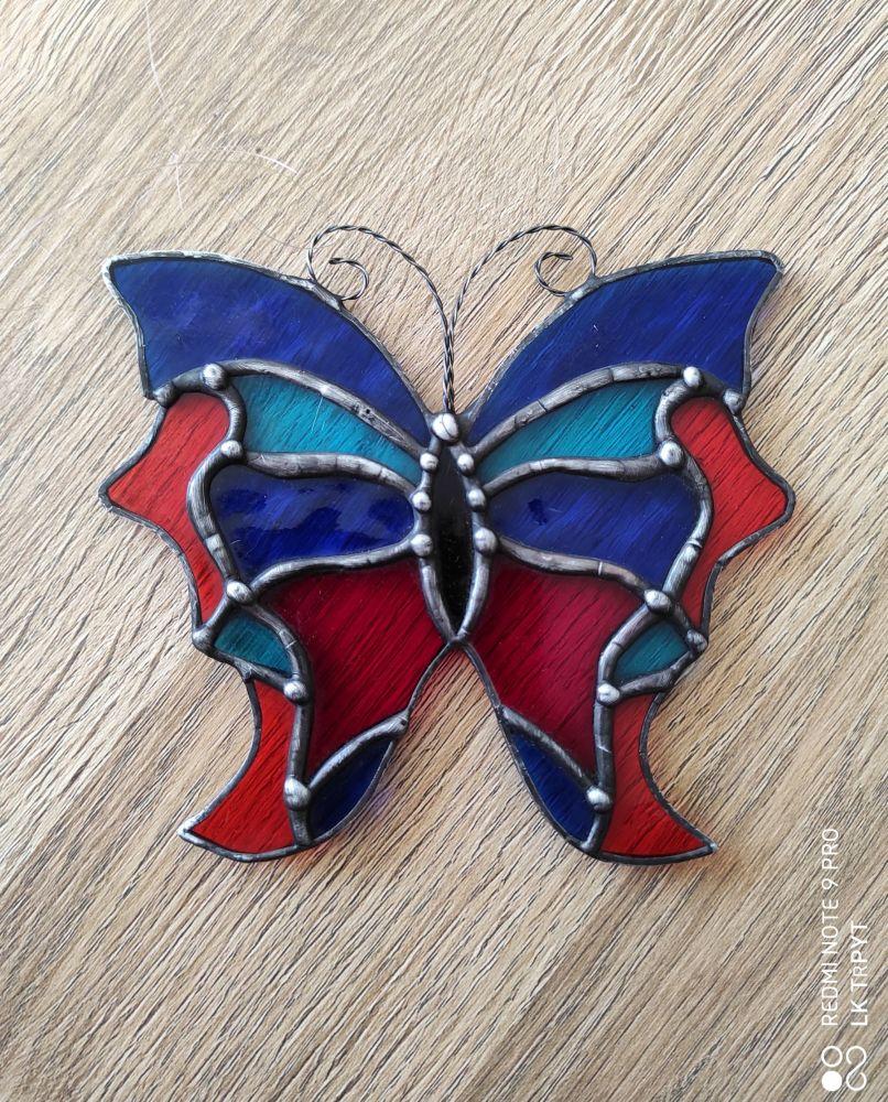 Vitráž Motýl